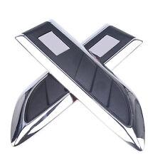Pair Auto Car SUV Decorative Air Flow Intake Scoop Bonnet Side Fender Vent Hood