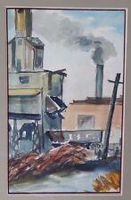 "Walt Huber ""The Tipple, Rutherford"" c1940 (west virginia | industrial coal mine)"