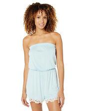 New listing Splendid Women's Sleep Romper Teddy Pajama Pj, Dreamy Blue, Medium