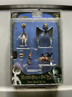 2007 NIGHTMARE BEFORE CHRISTMAS NBX NECA MUMMY BOY&BAT KID TRAIN&RAT SEALED MOC