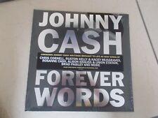 JOHNNY CASH - FOREVER WORDS  -  VINYL  - LP - NEW