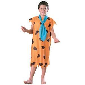 The Flintstones 80s TV Cartoon Boys Kids Caveman World Book Week Fancy Costume