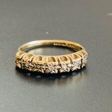 Vintage 9ct Gold Diamond Eternity Ring Birmingham 1979
