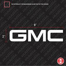 2X GMC LOGO sticker vinyl decal