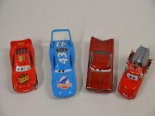 10 ) Disney Pixar Cars Set 4 verschiedene Cars Autos -  aus Metall