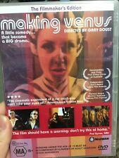 Making Venus brand NEW/sealed region 4 DVD (2002 Australian movie documentary)