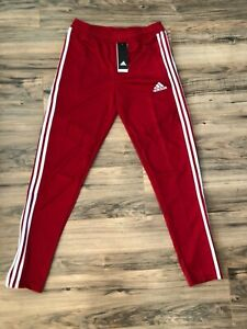 Adidas Tiro 19 youth boys active pants size XL Power Red NWT