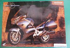 HONDA PAN EUROPEAN ST 1300 MOTO MOTORCYCLE ADVERTISING PUBBLICITA DEPLIANT