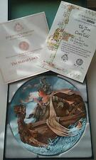 NEW 'THE MAN OF LAW'S TALE' COLLECTOR PLATE CERTIFICATE IN BOX NIB 1981 #3373B
