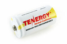 Tenergy C Size 1.2v 3500mah High Capacity NiCd Rechargeable Battery Button Top