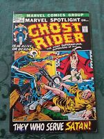 Marvel Spotlight #7 Ghost Rider VF