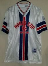 Vintage Fila World Cup France '98 Soccer Jersey Small Official Made in Italy
