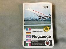 Quartett Kartenspiel Spielkarten Flugzeuge mit 52422 F.X.Schmid 🚙 2. Wahl