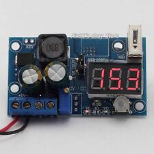 LM2596 DC Power Supply Adjustable Step Down Module Converter LED Voltmeter y USB