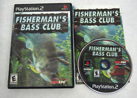 PS2 Fisherman's Bass Club Sony PlayStation 2 Game Complete - Resurfaced