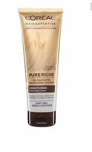 LOréal Hair Expertise Riche Nourishing Conditioner 250ml