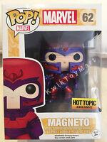 Funko Pop! Vinyl Xmen Magneto Metallic No.62 Hot Topic Exclusive RARE