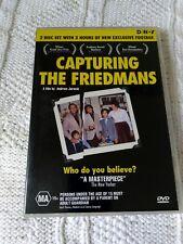 CAPTURING THE FRIEDMANS – DVD, 2-DISC SET, R-4, LIKE NEW, FREE POSTAGE