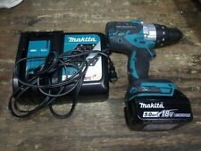 "Makita XPH07 18V Li-Ion 1/2"" Hammer Drill Driver Kit"