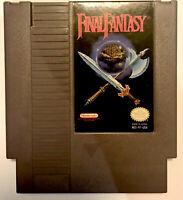 NES Final Fantasy Nintendo Entertainment System Game Vintage 1985 FINAL FANTASY