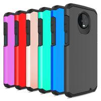 For Motorola Moto Z3/Z3 Play Phone Case Shockproof Slim Armor Hybrid Hard Cover