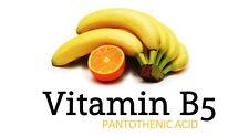 Vitamin B5, Pantothenic Acid,  500mg 30 capsules, healthy hair, skin