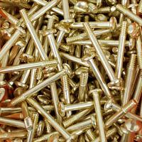 2 x Custom Smith & Wesson S&W K L N Frame Target & Magna Grip Screws Gold Plated
