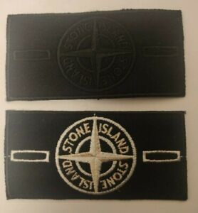 Stone Island badge Silver Special Edition + Ghost Black