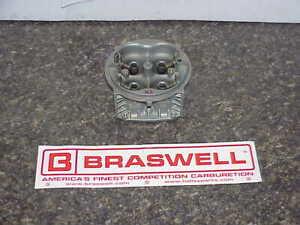 Braswell HP MAIN BODY for Holley 830 CFM Downleg Boosters Racing Carburetor