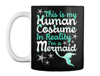 Cozy Mermaid Human Costume.. - This Is My Costume In Reality I'm Gift Coffee Mug