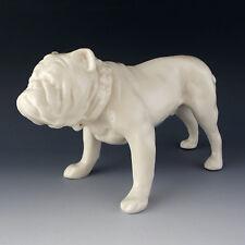 "Lenox China Vintage BULLDOG 8"" Figurine Sculpture Art Deco c1930 Very Scarce Dog"