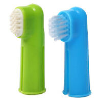 Oral Toothbrush Set + Massage Finger Brush Grooming Toothpaste for Dog Puppy TP