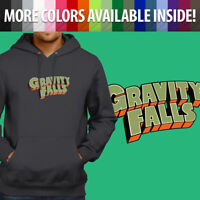 Gravity Falls Logo Title Disney Cartoon Mabel Pullover Sweatshirt Hoodie Sweater