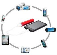 HOT Mobile Phone 2600mAh Portable External USB Power Bank Box Battery Charger YK