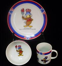 Rare 1984 Los Angeles Olympic Games Souvenir - Children's Dishes - Papel - NIB