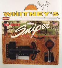 Gws Pro Hunter Sniper 1 Pin Archery / Bow Adjustable Fiber Optic Sight - 04444