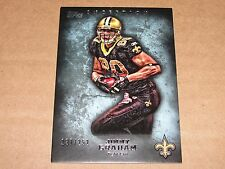2012 Topps Inception JIMMY GRAHAM #17 Blue SP/252 Saints - Seahawks HURRICANES