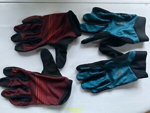 Pearl Izumi Cycling Gloves- 2 Pairs- Men's Large