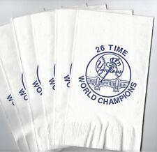 NY Yankees 26 Time World Champions Napkins