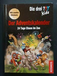 Die drei Fragezeichen ??? Kids 24 Tage Chaos im Zoo Adventskalender - TOP !