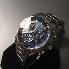 Mens Citizen Chronograph Watch Eco Drive H500 Series blue Steel Genuine