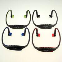 New Trendy USB Ear loop Headphones Earphone FM Sport MP3 Music Player W/ TF Slot