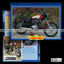 #061.05 Fiche Moto DUCATI 450 SCRAMBLER 70's Motorcycle Card