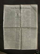 US Civil War 1862 NY Newspaper - Siege of Island No 10