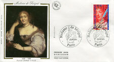 FRANCE FDC - 3000A 2 MADAME DE SEVIGNE - PARIS 27 Avril 1996 - LUXE sur soie