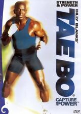 Billy Blanks Tae Bo Cardio Kickboxing - Strength and Power - 2 Workouts!