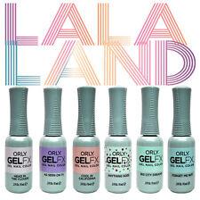Orly Gel FX 6 x 9ml - LA LA LAND Collection - Printemps 2017 - Limited edition