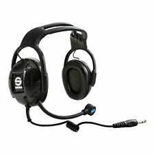 Sparco Practice Rally/Race Car Headset For IS-110 Intercom Amplifier - 00537024