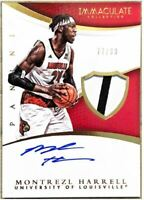 Montrezl Harrell 2015 Immaculate Collection Louisville Rookie Patch Auto /99