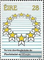 Irland 681 (kompl.Ausg.) postfrisch 1989 Parlament